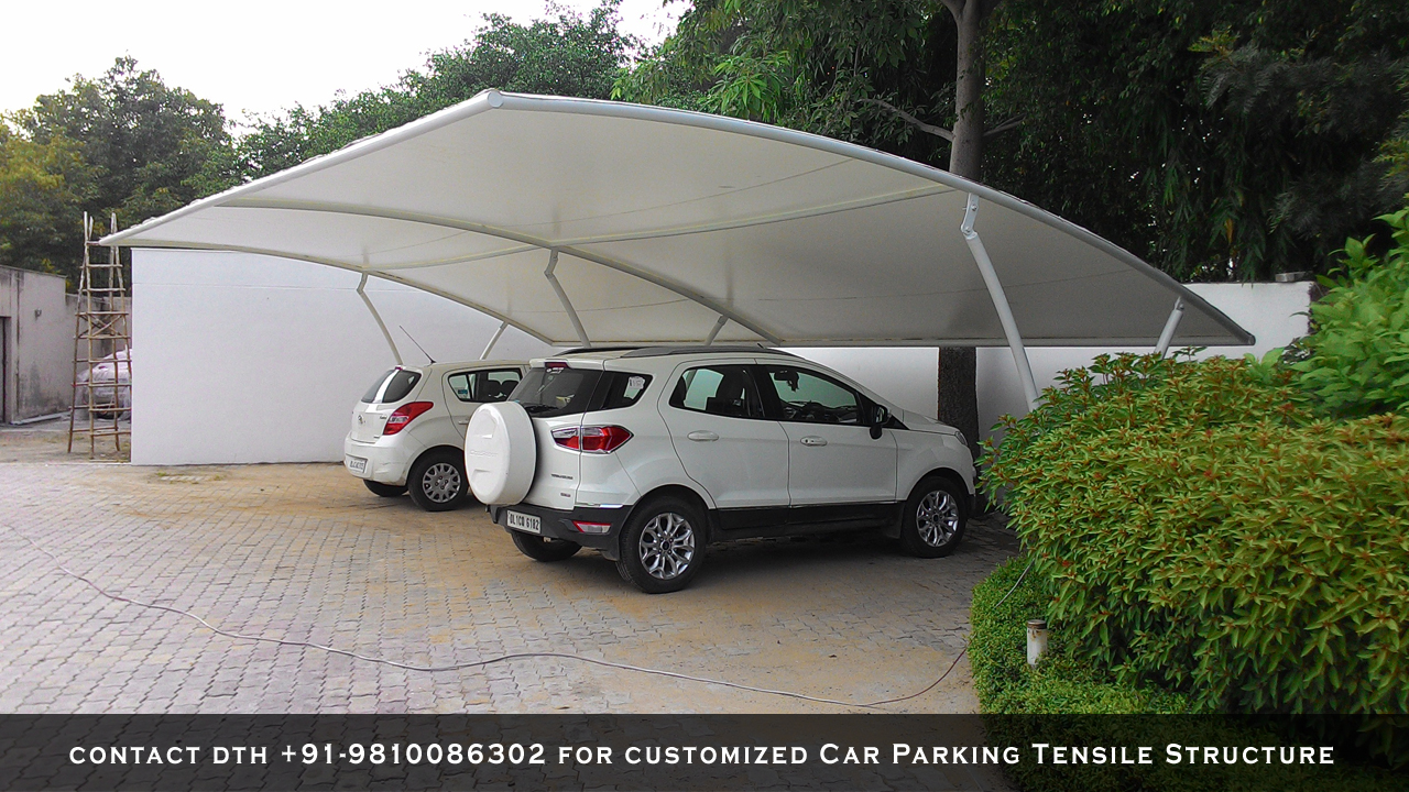 Car-Parking-Tensile-Structure