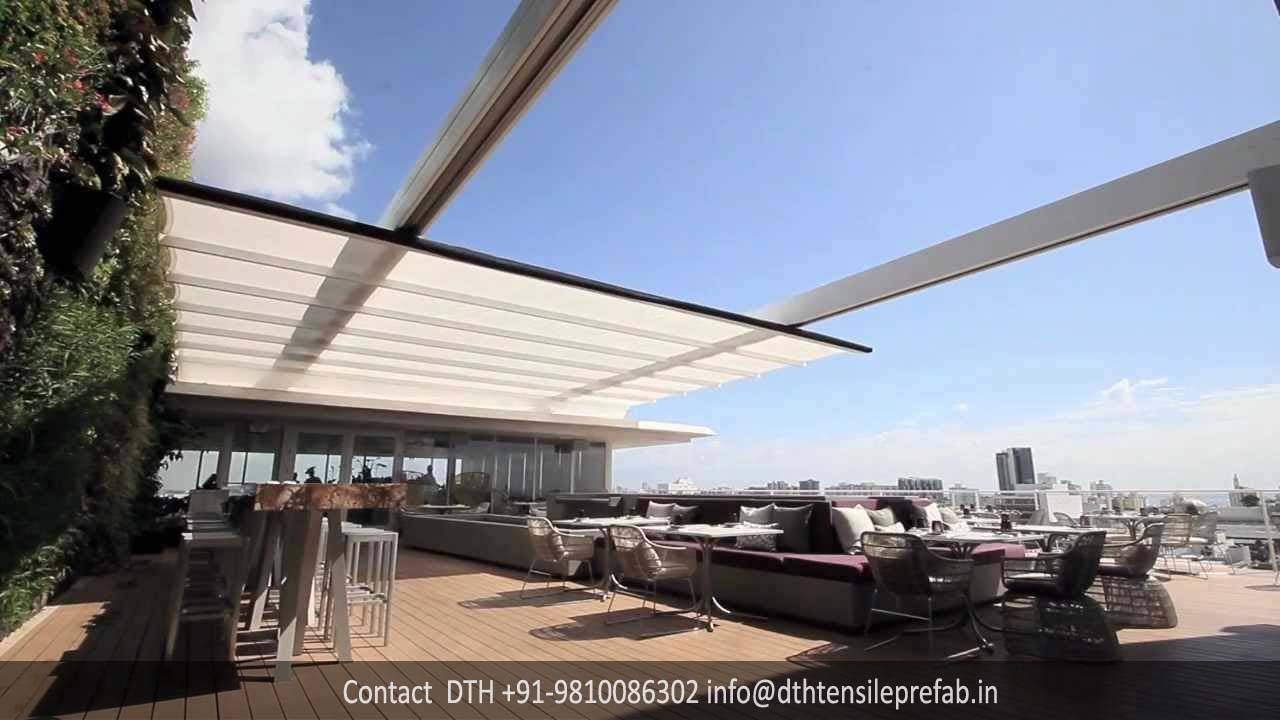 Retractable-Tensile-Structure